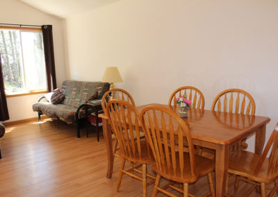 dining room, futons
